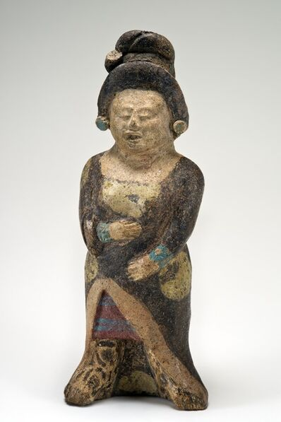 'Figurine d'une dame noble (Figurine of a noblewoman)', 600-900 AD
