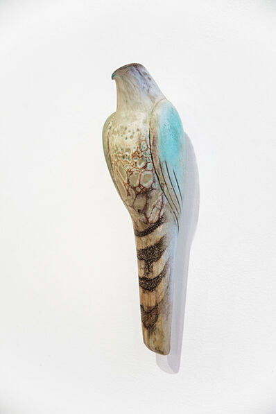 Jane Rosen, 'CELADON LACE BIRD', 2019