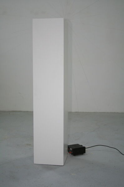 Kai Richter, 'Vibrationssockel', 1999