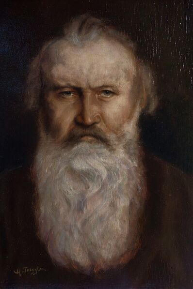 Hermann Torggler, 'Portrait of Johannes Brahms.', ca. 1904