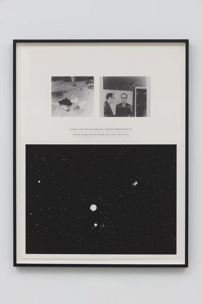 Charles Gaines, 'Night/Crimes: Taurus', 1997