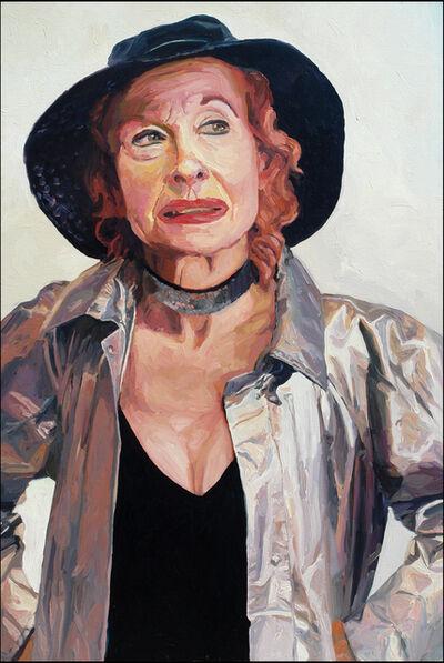 Laura Alexander, 'Olivia, Silver Coat', 2005
