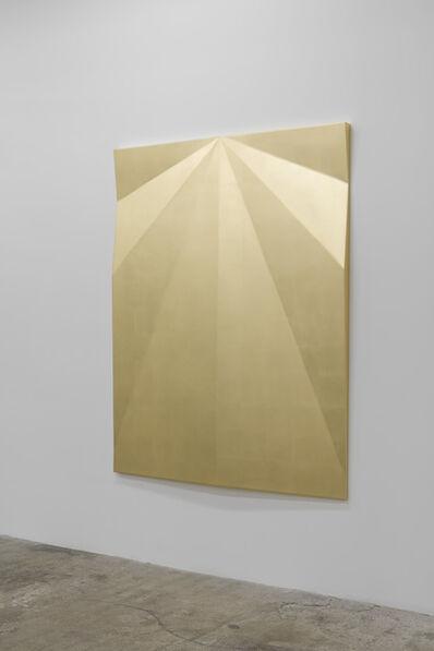 Gonzalo Lebrija, 'Unfolded Gold Aludra', 2017