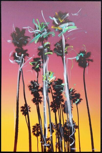 Pete Kasprzak, 'Santa Barbara Grouped Palms', 2021
