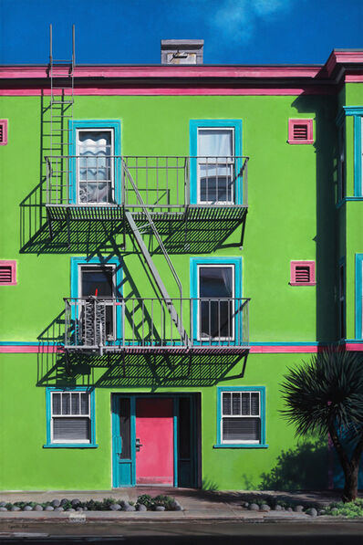 Lynette Cook, 'Wild Child - original painting American Realism - architecture', 2020