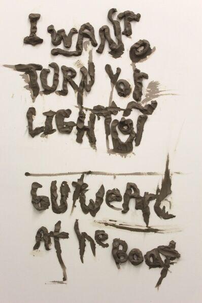 Nasim Hantehzadeh, 'I Want to Turn Your Light On', 2014