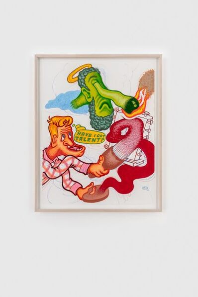 Peter Saul, 'Have I Got Talent', 2020