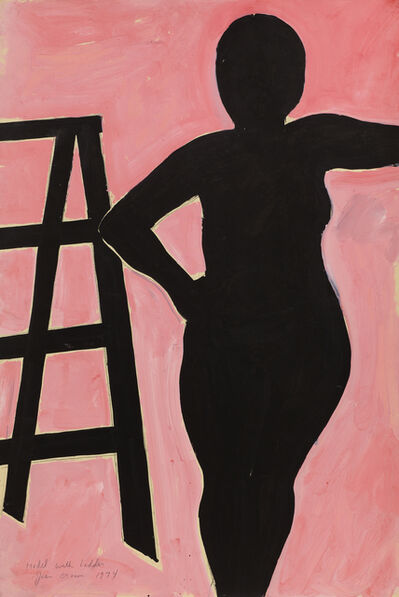 Joan Brown, 'Model with Ladder ', 1974