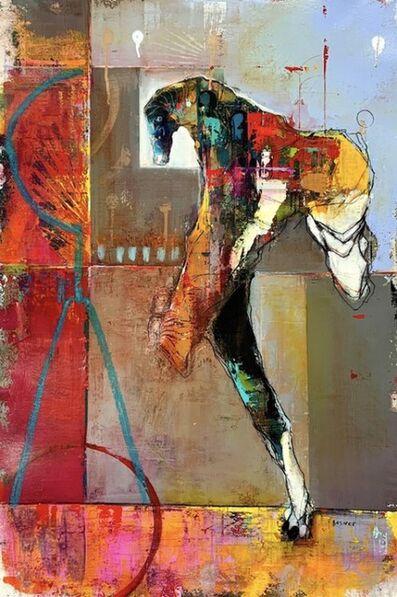 Dominic Besner, 'Le rempart-phare', 2020