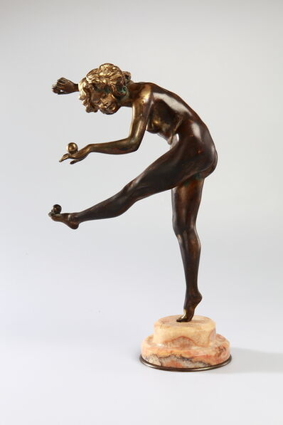 "Claire Jeanne Roberte Colinet, '""The Juggler""', ca. 1920"