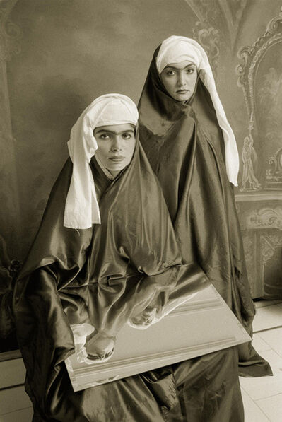 Shadi Ghadirian, 'Qajar #23', 1998
