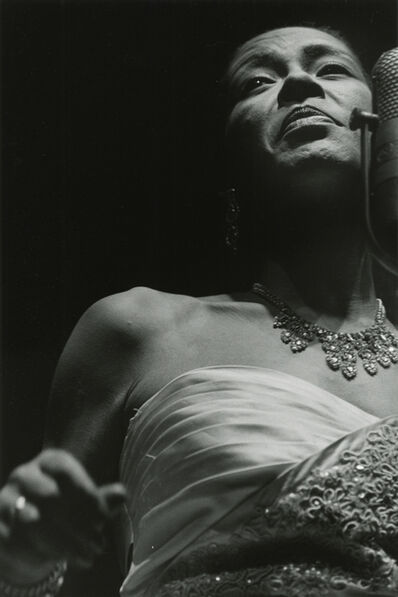 Lee Friedlander, 'Billie Holiday', 1957