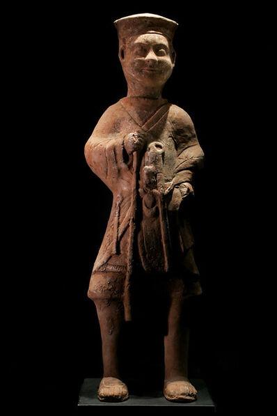 "Han Dynasty, 'Standing Horse Trainer ""Palafrenieri""', 206 BCE-220"