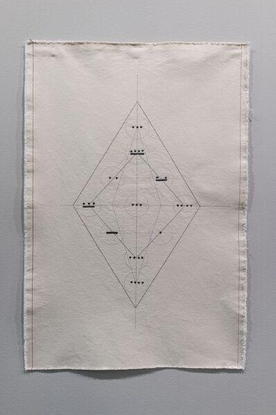Isa Carrillo, 'Numerological Portrait (Helena Blavatsky)', 2019