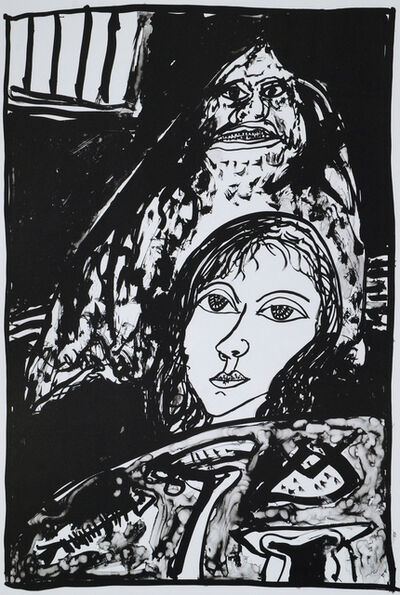 John Bellany R.A., 'The Death Knell Rings Out, Celtic Mother and Child, and The Blessed One (three works)', 2004