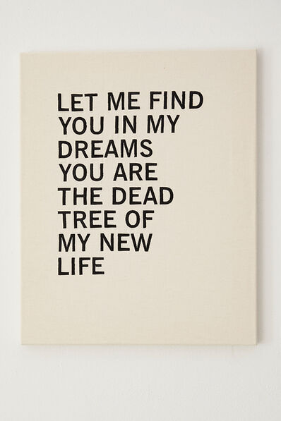Joël Andrianomearisoa, 'Let me find you in my dreams you are the dead tree of my new life', 202
