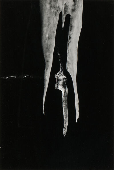 Minor White, 'Two Icicles', 1960