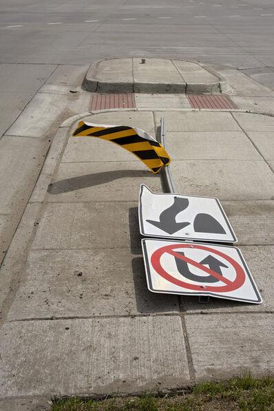 Dallas Parkins, Jr, 'Sign Down (Denver) #12', 2014