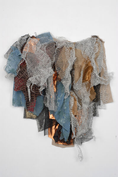 Renée Lerner, 'Silver Flow with Blue', 2010