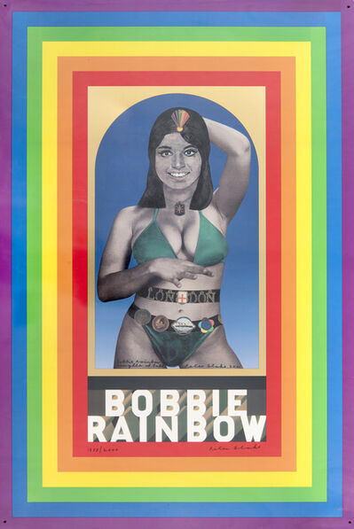 Peter Blake, 'Bobbie Rainbow', 2001