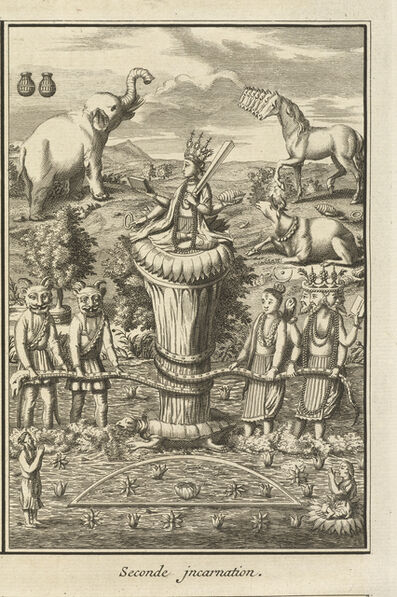 Bernard Picart, 'Seconde incarnation', 1723-1743