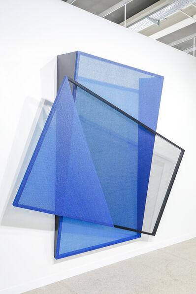 Kapwani Kiwanga, 'Shade Shift (black/blue)', 2019