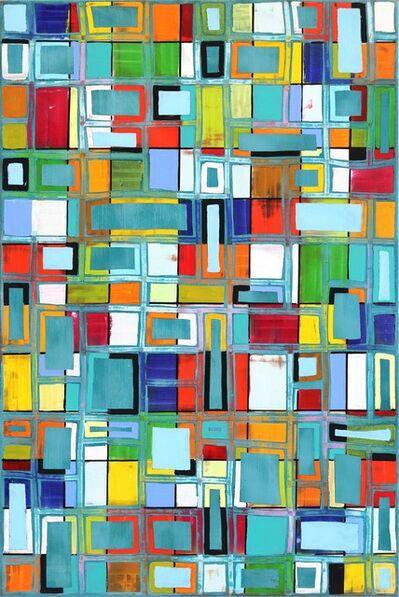 Petra Rös-Nickel, 'Pattern Blue', 2018