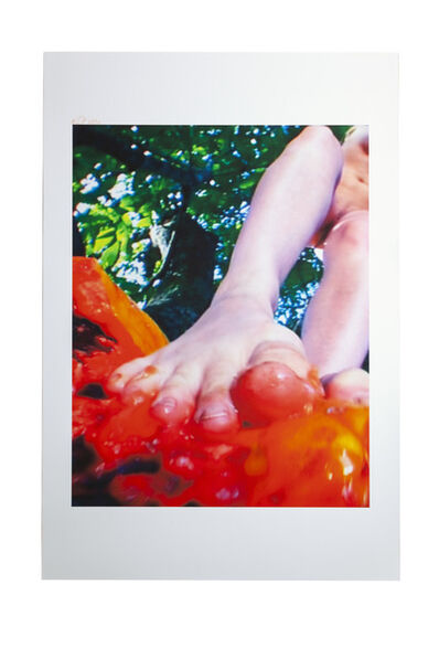 Pipilotti Rist, 'Small Homo Toes the Line', 2007