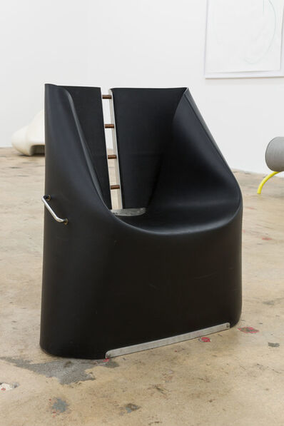 Henner Kuckuck, 'Black Rubber Chair', ca. 1990