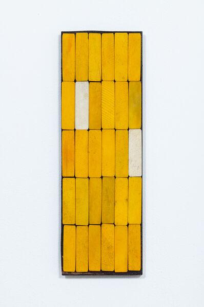 Luis Romero, 'Amarillo/Blanco', 2019