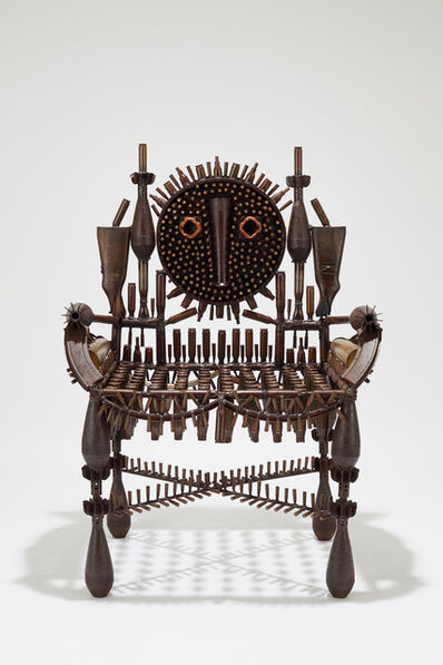 Gonçalo Mabunda, 'Untitled (throne)', 2019