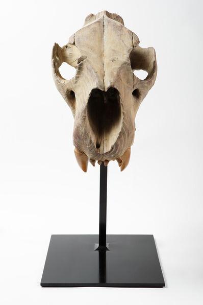 Quentin Garel, 'Lion Skull', 2011