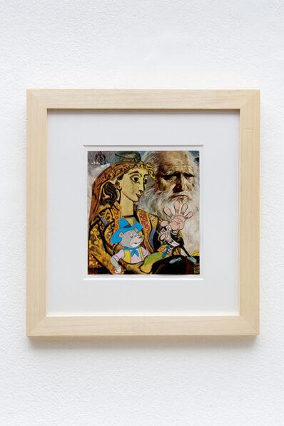 Erró, 'Leonardo', 1991