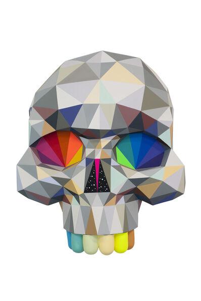 Okuda San Miguel, 'Diamond Skulls', 2017