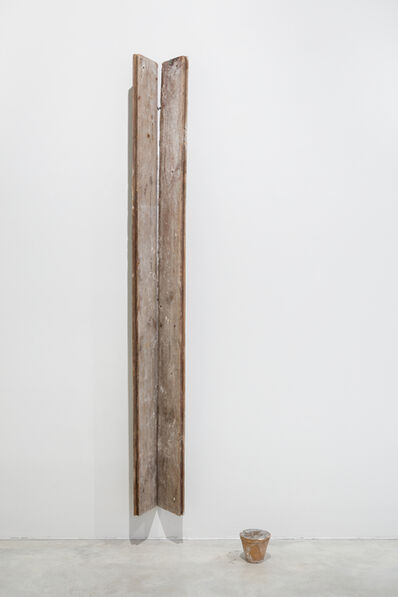 Miroslaw Balka, '204 x 25 x 17, 11 x ø 13 x ø 7.5', 1990