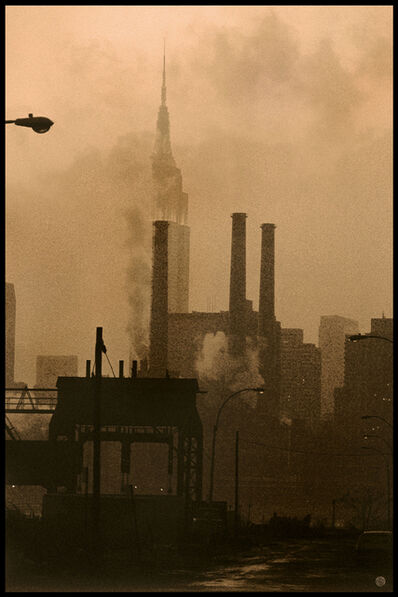 Michael Yamaoka, 'View of Manhattan from Long Island City', 2021