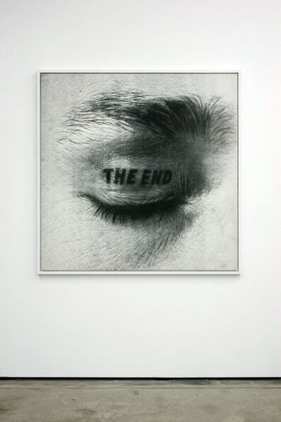 Timm Ulrichs, 'The End', 1981