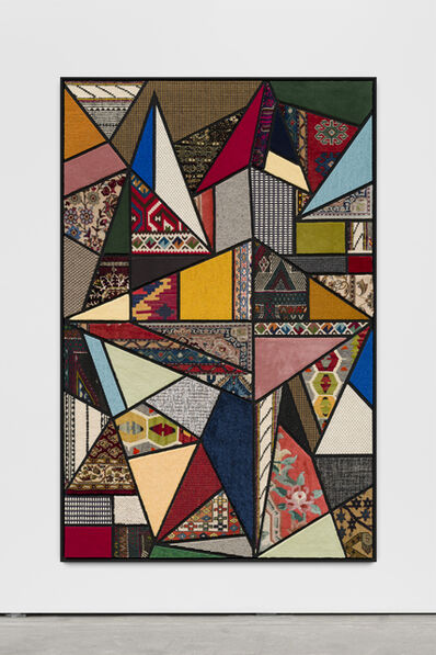 "Nevin Aladağ, '""Social Fabric, hang-glide""', 2018"