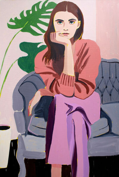 Patrick Puckett, 'Woman on a Sofa', 2019