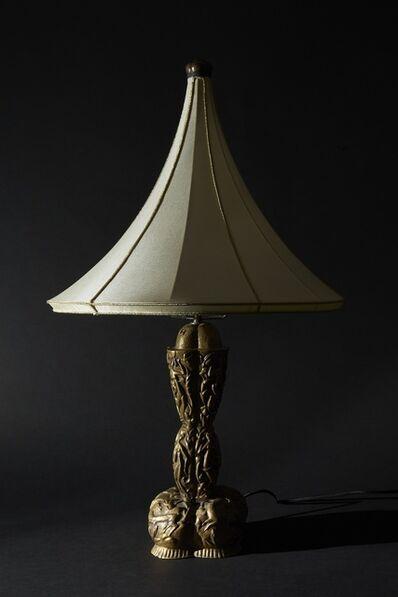 Karl Hagenauer, 'Unique Studio Made Table Lamp', 1923