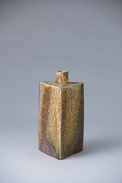 Ken Matsuzaki, 'Rectangular vase, yohen natural ash glaze', 2020