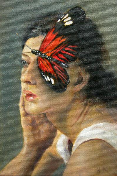 Homeira Mortazavi, 'ButHerFly 3 (Postcard)', 2021