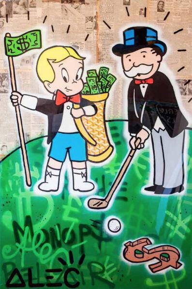 Alec Monopoly, 'Golf Goyard Bag', 2017