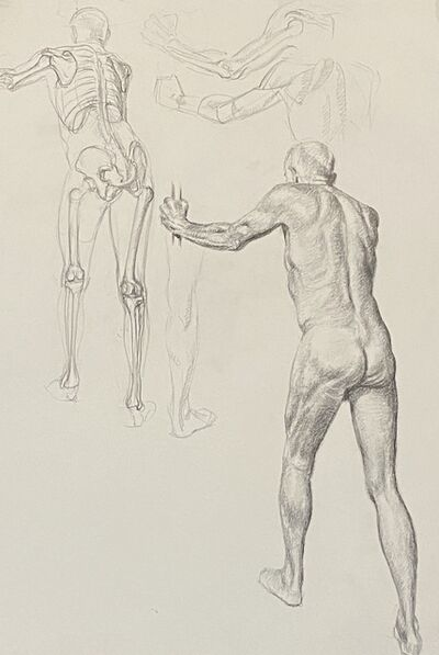 Nancy Lunsford, 'Anatomy Study', ca. 2003