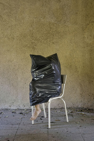 Elina Brotherus, 'Black Object - White Chair', 2016