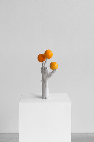 Erwin Wurm, 'One Minute Forever (hands/fruits)', 2019