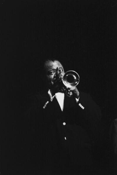 Hervé GLOAGUEN, 'Louis Armstrong, Paris, 1964', 1964