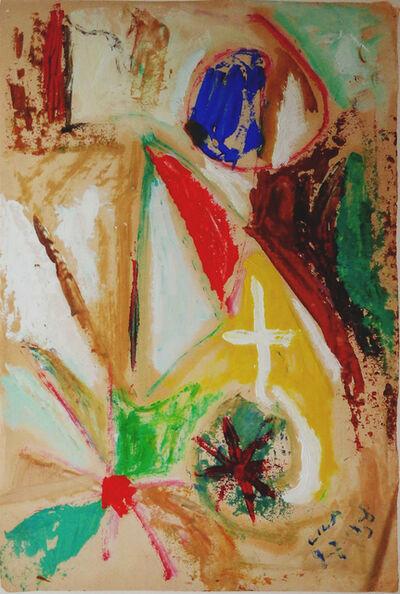 Esteban Lisa, 'Juego con líneas y colores', 1958