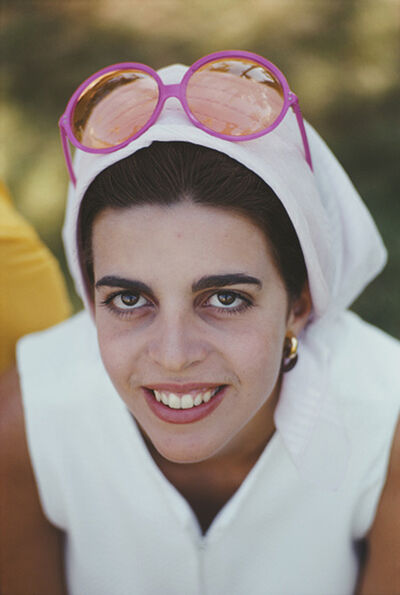 Slim Aarons, 'Christina Onassis, 1968: The daughter of Greek shipping tycoon Aristotle Onassis at Palm Beach', 1968