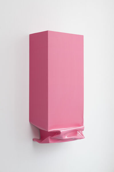 Angela de la Cruz, 'Throw (Pink)', 2013